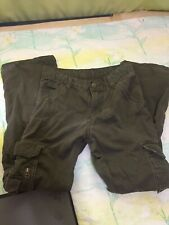 Wrangler Boy's Dark Green Cargo Pocket Pants Size Medium