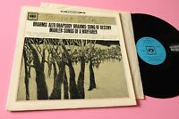 Brahms Walter LP Alto Rhapsody Sbrg 72142 UK 1962 NM Classical Stereo