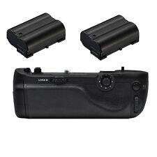 Multi Battery Hand Grip for Nikon D750 + 2X EN-EL15 Battery SLR Camera