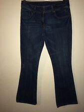 Dorothy Perkins Jeans In Size 12 Bootcut Mid Blue Double Button Waist <R5836