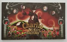 Charlie And The Chocolate Factory Japanese Imported Movie Program Rare J Depp