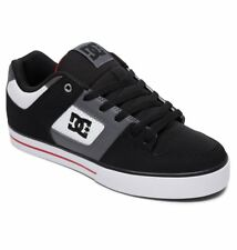 Scarpe Uomo Skate DC Shoes Pure Bianco Nero Rosso White Red Schuhe Chaussures