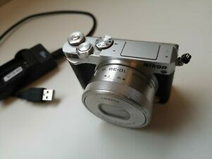 Nikon 1 J5 20.8MP Digital Camera - Black (Kit w/ 10-30mm Lens)