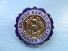Vieux Dulwich Hamlet Football Club Enamel badge
