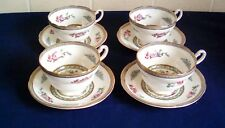 Set of 4 Paragon Tree of Kashmir Cups and Saucers all in Excellent Condition