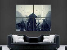 ASIATIQUE GUERRIER épée Poster art samuirai mur géant grande image