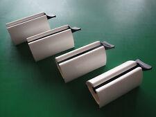 Tubenleer weiß - 4 Stück - Tubenausdrücker - Tubenaufroller - Tubenentleerer