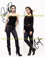 COTE DE PABLO AND PAULEY PERRETTE AUTOGRAPHED 8x10 RP PHOTO NCIS CAST