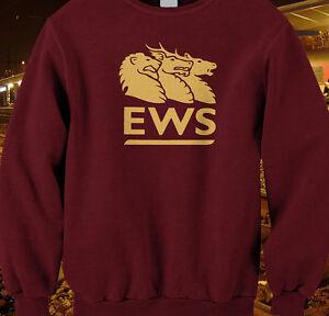 Diesel depot loco trains model railways EWS sweatshirt