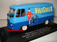 IXO COFRADIS PEUGEOT J7 VELOSOLEX EDITION LIMITED 1200 copies to the 1/43°