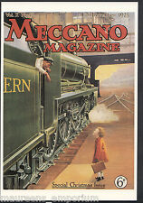Advertising Postcard - Meccano Magazine Cover, Special Christmas Issue   BH6195