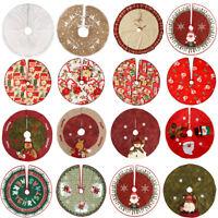 Jupes de sapin de Noël Jupes Stands Tapis de sol Accueil Décorations de fête
