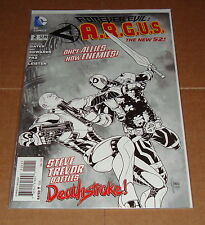 Forever Evil A.R.G.U.S. #2 Sketch Variant Edition 1st Print Justice League
