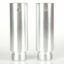 39mm Fork Tube 4in Extensions For Harley Dyna Glide Sportster XL 883 1200 Models