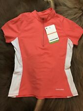 Cannondale Cycling Womens Intensity Pockets Jersey Size Medium Peach NWT