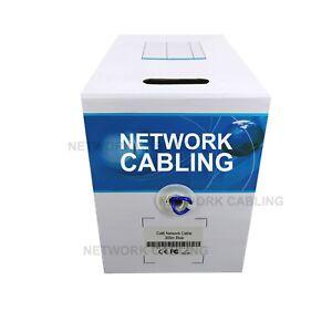 *VIC Metro* Premium Cat6 305M UTP Ethernet Lan Network Cable Roll Data Core