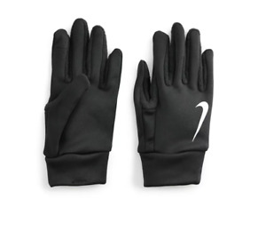 Nike Thermal Gloves Mens Medium Authentic Therma Fit Warm Touchscreen Black