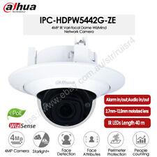 Dahua 4MP AI 4X Zoom Starlight IR Audio Alarm WDR POE IP Camera IPC-HDPW5442G-ZE