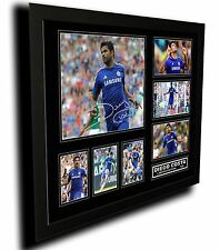 DIEGO COSTA CHELSEA FC SIGNED LIMITED EDITION FRAMED MEMORABILIA