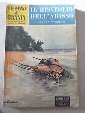 URANIA  N 35 DEL 20 FEBBRAIO  1954 - IL RISVEGLIO DELL'ABISSO (1)  - MEDIOCRE