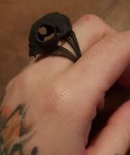 Rogue And Wolf 3D Cat Skull Ring
