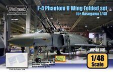 Wolfpack 1:48 F-4 Phantom II Hard Wing Folded Set for Hasegawa Resin #WP48146