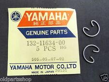 Yamaha TA125 AS3 JT2 YZ60 DT50 DT80 LB50 LB80 Piston Circlip x2 NOS 132-11634-00