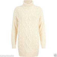 River Island Polo Neck Acrylic Jumpers & Cardigans for Women