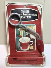 Vintage New Old Stock Nevco Instant Immersion Heater 1976 Coffee Cup Warmer