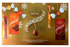 LINDT LINDOR SMOOTH CHOCOLATE ASSORTED COLLECTION BOX 500g B.B DATE - 29.02.2020
