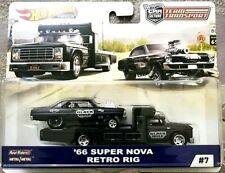 Hot Wheels Cultura coche equipo de transporte 1966 Super Nova Retro Real jinetes Rig
