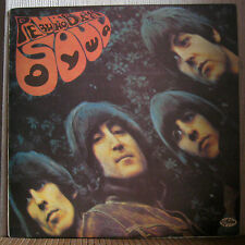 THE BEATLES - RUBBER SOUL !!! EXTRA RARE COVER PRINTED ON MARINE MAP !!