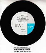 "GARY MOORE Still Got The Blues (For You) 7"" 45 rpm record + juke box title strip"
