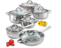 Cook N Home 12-Piece Stainless Steel Cookware Set (FREE SHIPPING)