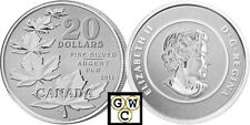 2011 'Maple Leaf' $20 Pure Silver Coin .9999 Fine (12795) ( NT) (OOAK)