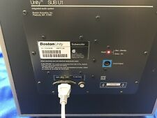 Boston Acoustics Unity Sub U1 Amp Amplifier Panel 100watts Works Tested