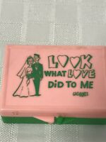 Vintage Gag Boxes Novelty Look What Love Did to Me MINT 50s 60s Rare