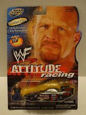 Road Champs WWF Attitude Racing Funny Car & Steve Austin Figure 1:64 C7-306