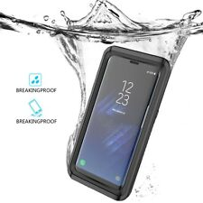 For Samsung Galaxy S8 Plus Case Waterproof Full-body Shockproof Protective Cover
