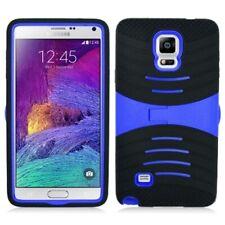 Samsung Galaxy Note 4 Rugged Armor Hybrid Hard Case Cover Kickstand  EL Bb