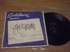 "BO OST SPELLBOUND Miklos Rozsa - 25cm / 10"" Solitaire label"