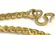 22k 916 Solid Gold Chain 24 Inches, 40.0 grams, 3.3mm Unique Link
