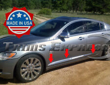2008-2015 Jaguar XF 6Pc Body Side Molding Trim Chrome Stainless Steel Accent