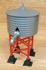 Unbranded Red & Gray Plastic Water Tower Accessory For Train Set Display *READ*