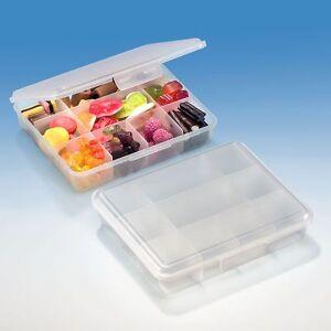 BUCHSTEINER Klickbox 160 x 135 x 35 mm Pillenbox Musterkasten Sortierbox