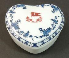 RMS Titanic Artifact Collection White Star Line1912 Replica Heart Trinket Box