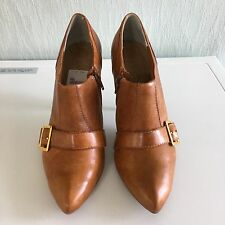Brown Ankle Boots with a Zip BNWT Eu40, Uk 7