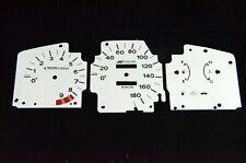 Gauge Faces Overlay kit Spoon style for  JDM Honda Civic Eg Ej 92-95