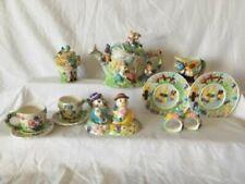 Vintage 14 Piece Children's Garden Tea Set