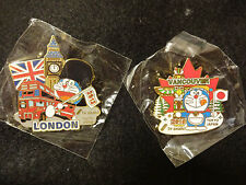 2012 LONDON 2010 VANCOUVER OLYMPIC JAPAN PIN BADGE MEDIA TV ASAHI 2 PINS SET